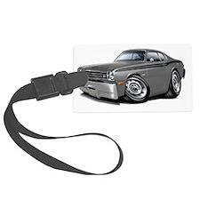 1970-74 Duster Grey-Black Car Luggage Tag