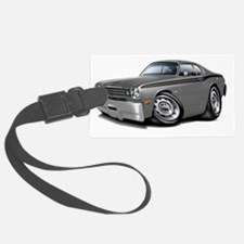 1970-74 Duster Grey-Black Car Luggage Tag