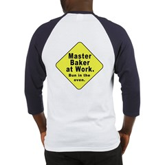 Master Baker - Bun in the Oven (OnBack) Baseball J