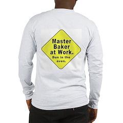 Master Baker - Bun in the Oven (OnBack) Long Sleev