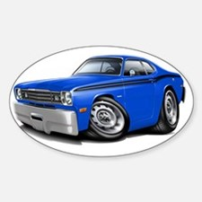 1970-74 Duster Blue-Black Car Decal