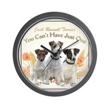 Jack Russell Cant Have Just One Tiles Wall Clock