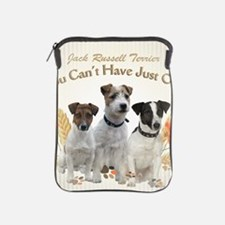 Jack Russell Cant Have Just One Tiles iPad Sleeve