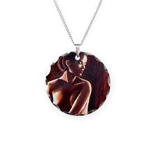 nude backlit squ Necklace