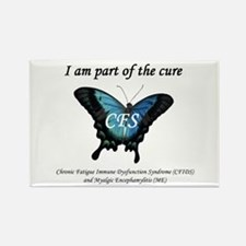 CFS Awareness Rectangle Magnet