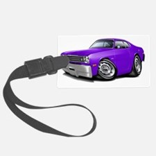 1970-74 Duster Purple Car Luggage Tag