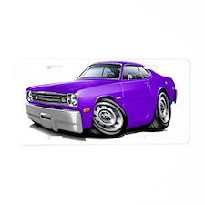 1970-74 Duster Purple Car Aluminum License Plate