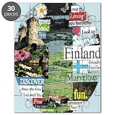 finlandblue5x8reg Puzzle