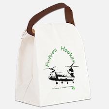 Future Hooker Green Canvas Lunch Bag