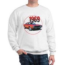 69GT500-C8trans Sweatshirt