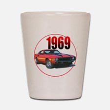 69GT500-C8trans Shot Glass