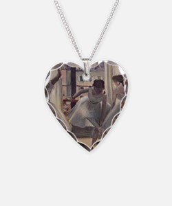 Degas1 Necklace Heart Charm