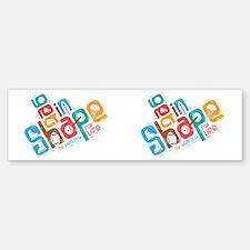 Get in Shape CP Mug Sticker (Bumper)