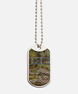 Water_Lilies Dog Tags