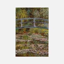 Water_Lilies Rectangle Magnet