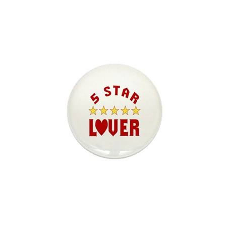 5 Star Lover Mini Button