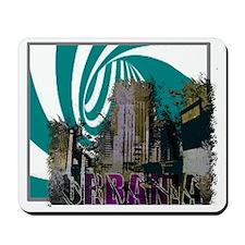 urbaniaonblack Mousepad