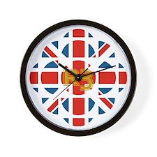 CBC_UK_print Wall Clock
