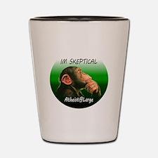 iamskeptical Shot Glass