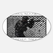 WHEREVER THEY HIDE Sticker (Oval)