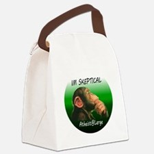 iamskeptical Canvas Lunch Bag