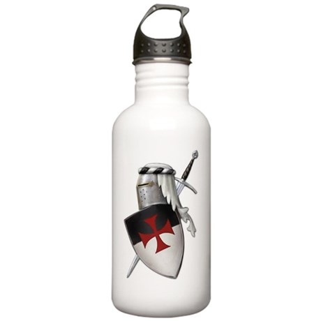 templar shield with cr Stainless Water Bottle 1.0L
