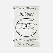 bubblesflatbig Rectangle Magnet