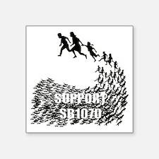 "sb_shirt_lt_cp Square Sticker 3"" x 3"""