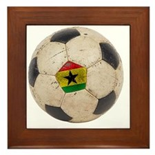 Ghana Football5 Framed Tile