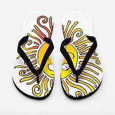 2-sun Flip Flops