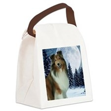 XmasGrace2010Mouse Canvas Lunch Bag