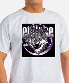 eclipse wolf indigo black large copy T-Shirt