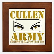 cullenarmy2 Framed Tile