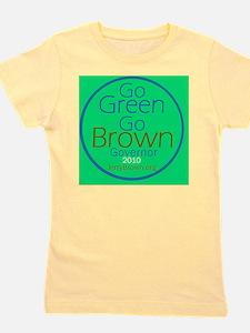 BrownGreen B Girl's Tee