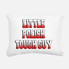 Little Polish Tough Guy  Rectangular Canvas Pillow