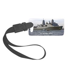 new york rectangle magnet Luggage Tag