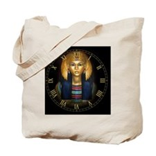 2-egyptian sarcophagus clock Tote Bag
