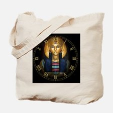 2-egyptian sarcophagus clock Tote Bag
