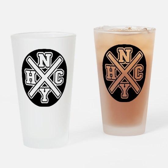 nyhcwhite Drinking Glass