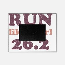 runlikeagirl26_pink Picture Frame