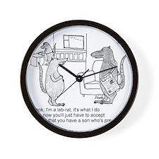 lab rat Wall Clock