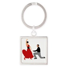 DWTS2 C-2K light Square Keychain