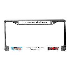 Cute Ali License Plate Frame