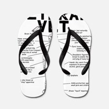 veteranvetmaleuse Flip Flops