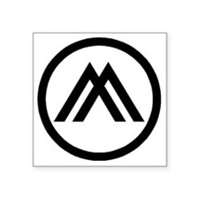 """mason_mon Square Sticker 3"""" x 3"""""""