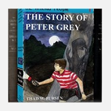 Story of Peter Grey CD Case Front Tsh Tile Coaster