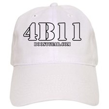 BoostGear - 4B11 Stencil T-Shirt - Dark Col Baseball Cap