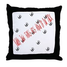 alpha of the pack Throw Pillow