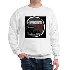NewbornArmyBlackBack Sweatshirt