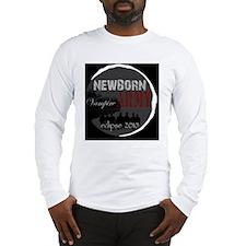 NewbornArmyBlackBack Long Sleeve T-Shirt